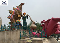 Lovely Playground Equipment Life Size Fiberglass Realistic Cartoon Character