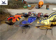 Insects Theme Park Large Animatronic Animals Realistic Handmade Butterfly Models