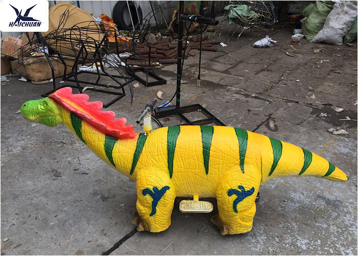 2 Meters Long Riding Motorized Animals Dinosaur Toy , Ride On Animal Scooters